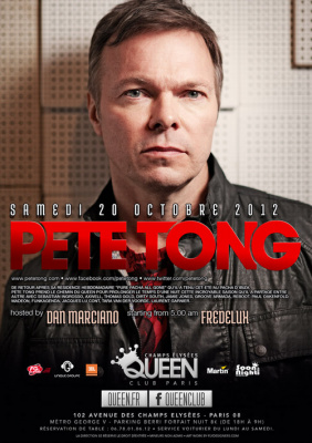Pete Tong au Queen Club Paris