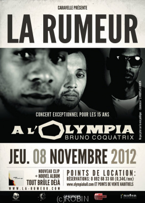 La Rumeur en concert à l'Olymipa