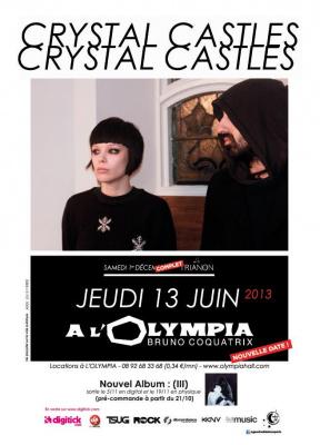 Crystal Castles Olympia 2013 Concert III
