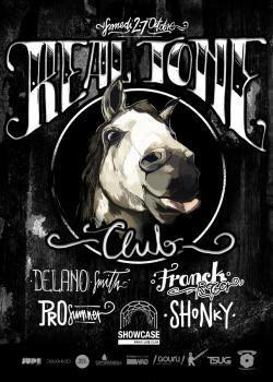 Real Tone Club au Showcase avec Delano Smith, Prosumer, Shonky et Franck Roger