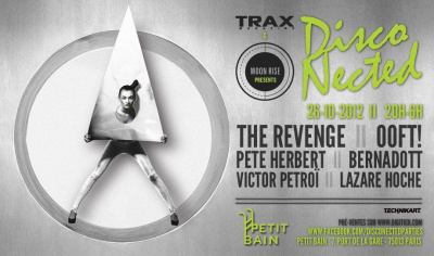 Disco Nected by Trax Magazine & Moon Rise au Petit Bain