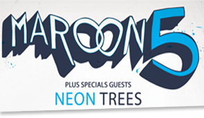 Maroon 5 en concert à Paris Bercy en 2013