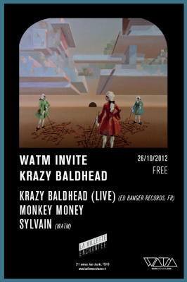 WATM invite Krazy Baldhead en live à la Villette Enchantée