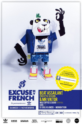 Excuse My French avec Beat Assailant à la Bellevilloise