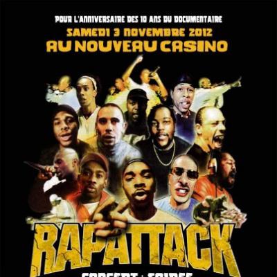 Rapattack au Nouveau Casino