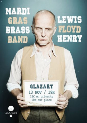 Mardi Gras Brass Band + Lewis Floyd Henry à Glaz'art : gagne ta place !