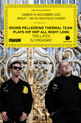 Sound Pellegrino plays Hip Hop All Night Long au Nouveau Casino
