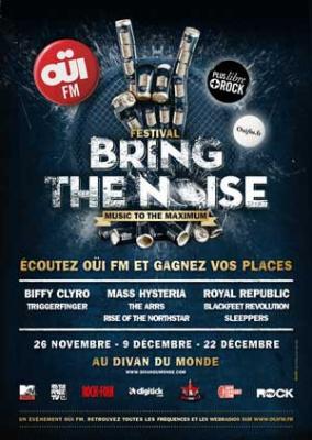 Festival Oüi Fm Bring the Noise 2012 au Divan du Monde