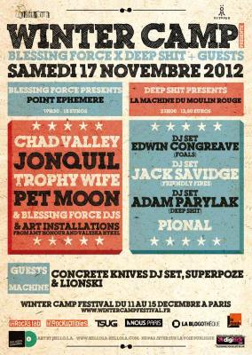 Winter Camp festival : Warm up à la Machine du Moulin Rouge