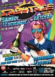 Sabotage Rock Party avec Sean 3oh!3, Name Name that Bitch, DJ Stiff