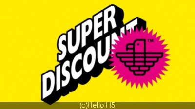 Hello H5 Superdiscount à la Gaîté Lyrique avec Alex Gopher, Etienne De Crécy et Julien Delfaud