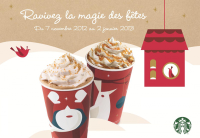 Starbucks se met à l'heure hivernale