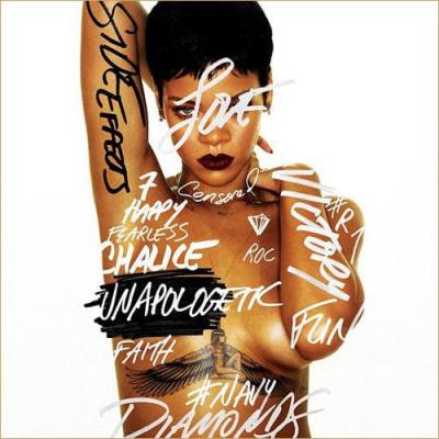 Rihanna au Stade de France en 2013 pour sa tournée « Diamonds World Tour »