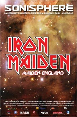 Iron Maiden au Sonisphère 2013