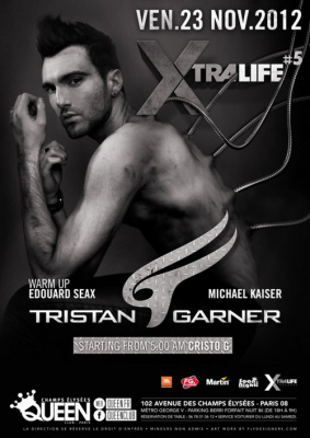 Tristan Garner au Queen Club Paris