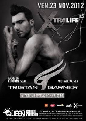 Tristan Garner au Queen Club Paris