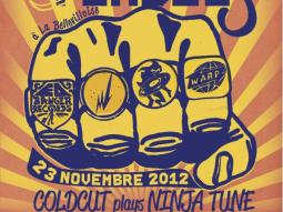 1 night 4 labels feat Coldcut, Jackson, Feadz et Kutmah à la Bellevilloise