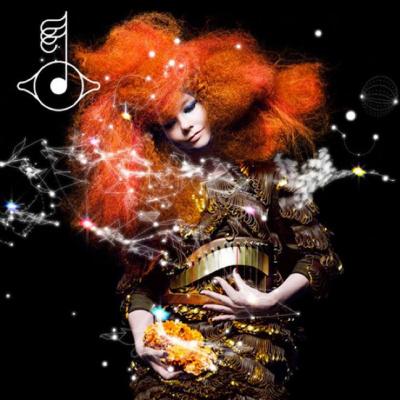 Björk en concert à Paris en février 2013 pour présenter Biophilia