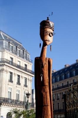 Le sculpteur Niko exposé à l'Opéra Restaurant