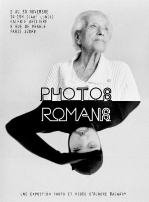 Photos romans : une expo photo vidéo d'Aurore Bagarry
