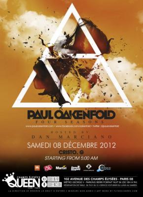 Paul Oakenfold au Queen Club Paris