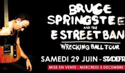 bruce springsteen stade de france 2013 Paris
