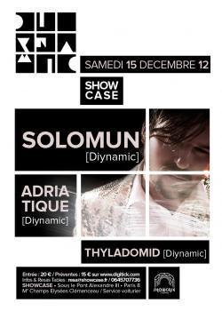 Diynamic au Showcase avec Solomun, Adriatique et Thyladomid
