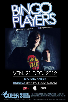 Bingo Players au Queen Club Paris