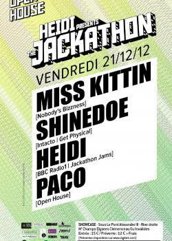 Heidi et Miss Kittin au Showcase
