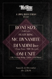 A (Big) Bass Xmas à la Machine Feat. Roni Size, Mc Dynamite, DJ Vadim