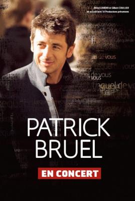 Patrick Bruel en concert unique à Paris Bercy en 2013