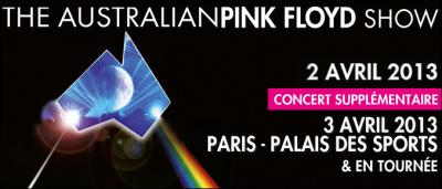 The Australian Pink Floyd Show au Palais des Sports en 2013
