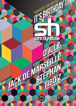 Strictly House au Showcase avec D'Julz et Jack de Marseille