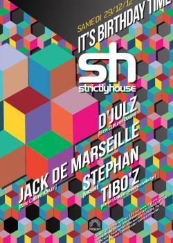 Strictly House au Showcase avec D'Julz et Jack de Marseille