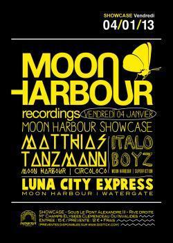 Moon Harbour au Showcase avec Matthias Tanzmann et Italoboyz