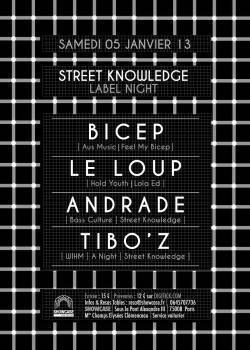 Street Knowledge au Showcase avec Bicep et Andrade