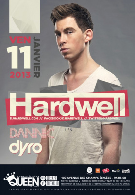 Hardwell au Queen Club Paris