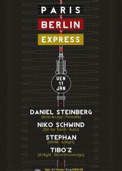 Paris – Berlin Express au Showcase avec Daniel Steinberg et Niko Schwind