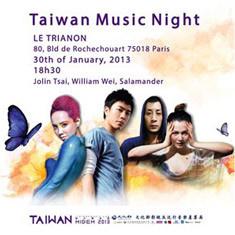 Taiwan Music Night 2013 au Trianon