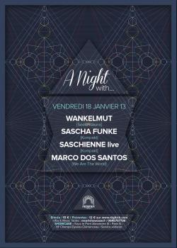 A night with… Wankelmut, Sascha Funke au Showcase