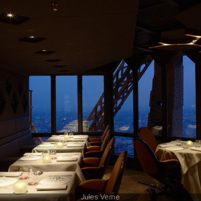 Saint Valentin 2013 au Restaurant Jules Verne