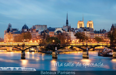 """Croisière Romantique """"Saint Valentin 2013"""" avec Bateaux Parisiens"""