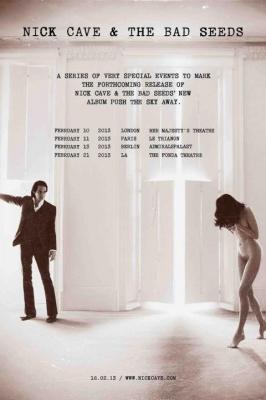 Nick Cave & the Bad Seeds en concert au Trianon en février 2013