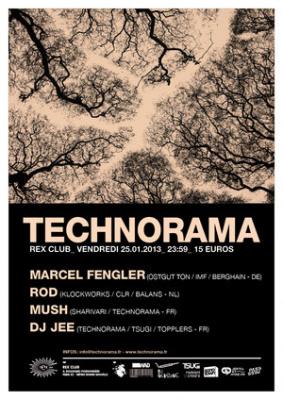 Technorama au Rex Club avec Marcel Fengler