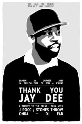 Free Your Funk : Thank You Jay Dee à la Bellevilloise