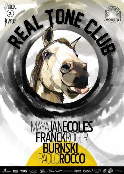 Real Tone Club au Showcase avec Maya Jane Coles