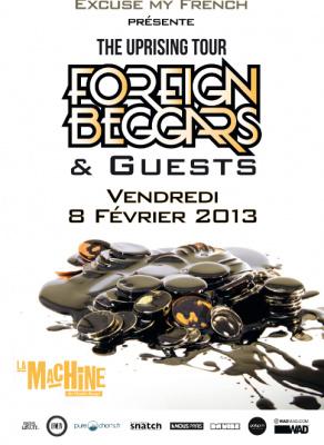 Foreign Beggars & Guests à la Machine du Moulin Rouge