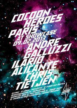 Cocoon Heroes Paris au Showcase avec Ilario Alicante