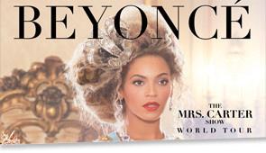 Beyoncé à Paris Bercy pour deux concerts en avril 2013