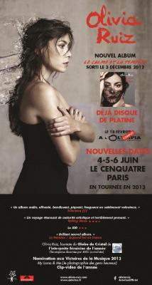 Olivia Ruiz au Centquatre pour trois concerts exceptionnels